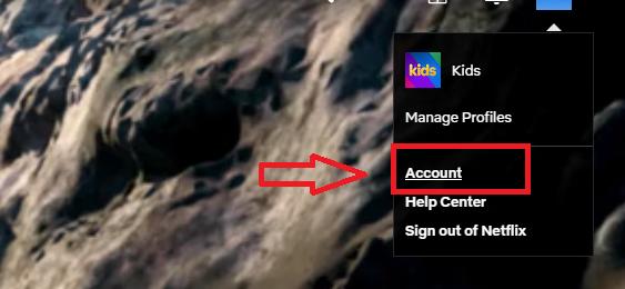 αλλαγη κωδικου προσβασης netflix